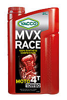 Мотоциклетное масло YACCO MVX RACE 4T 10W60 (2л.) для 4-тактных двигателей