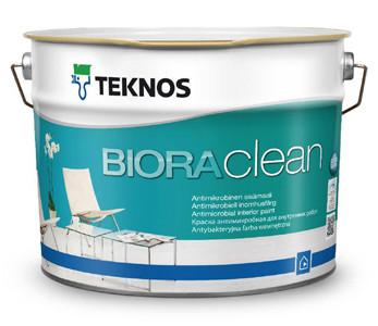 Biora Clean 2.7л - антимикробная интерьерная краска
