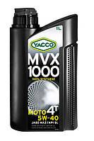 Мотоциклетное масло YACCO MVX 1000 4T 5W40 (1л.) для 4-тактных двигателей
