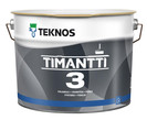 TIMANTTI 3 2.7л - Глубокоматовая интерьерная антисептическая краска
