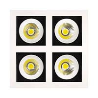 Светильник светодиодный HOROZ ELECTRIC SABRINA-32 HL6724L 32w 6400K квадратный белый