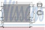 Радиатор кондиционера Audi A4 2000-2004 605*401мм по сотах (без осушителя) KEMP, фото 2