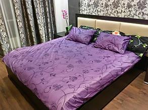 Комплект постельного белья элит сатин Moon Love ST 251019 (Полуторный)
