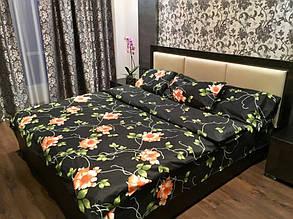Комплект постельного белья элит сатин Moon Love ST 251020 (Полуторный)