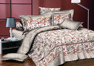 Комплект постельного белья сатин люкс 3D Moon Love ST 251004 (Полуторный)