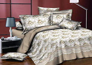 Комплект постельного белья сатин люкс 3D Moon Love ST 251005 (Двуспальный)