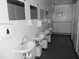 Мобильные туалеты из контейнеров