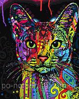 Игра Картины по номерам (BRM-GX9868) Абиссинская кошка (50х40)