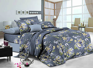 Комплект постельного белья сатин люкс 3D Moon Love ST 251045 (Полуторный)