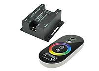 Сенсорный контроллер светодиодной ленты RGB 24A, радиоуправление, черный