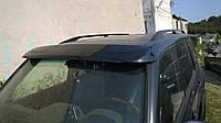 Козырек лобового стекла Mitsubishi Pajero Wagon 3, Митсубиши Паджеро Вагон