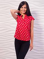 Блуза женская с воротничком стойкой p.42-48 VM1981-1