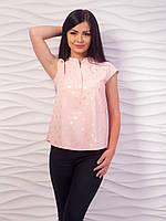 Блуза женская с воротничком стойкой p.42-48 VM1981-3