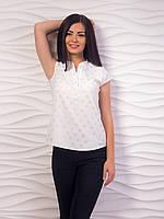 Блуза женская с воротничком стойкой p.42-48 VM1981-4