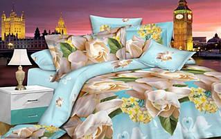 Комплект постельного белья сатин люкс 3D Moon Love ST 251049 (Полуторный)