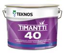 TIMANTTI 40 9л - напівглянсова інтер'єрна фарба антисептична