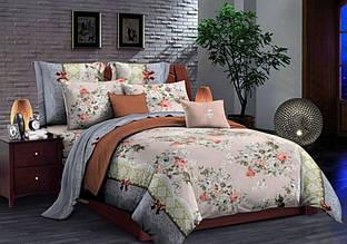 Комплект постельного белья сатин люкс 3D Moon Love ST 251051 (Полуторный)