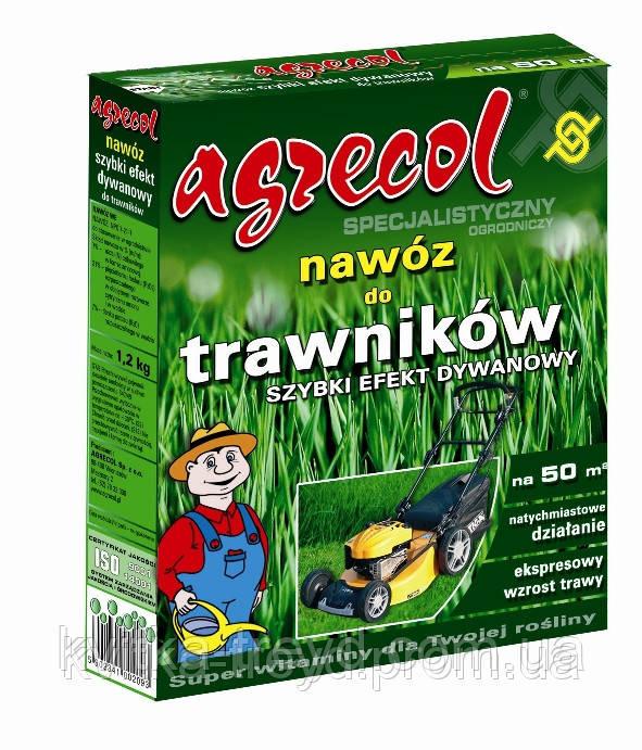 Удобрение для газонов быстрый ковровый эффект Агрекол