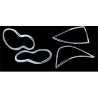 Набор декор. накладок BENZ W203 пер./задн.фонари