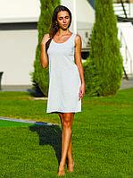 Домашняя одежда женская_Платья женские трикотажные_Платье для женщины 430/XL/серый в наличии XL р., также есть: M,XL, Роксана_ЦС