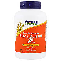Now Foods Black Currant Oil 1000mg 100caps