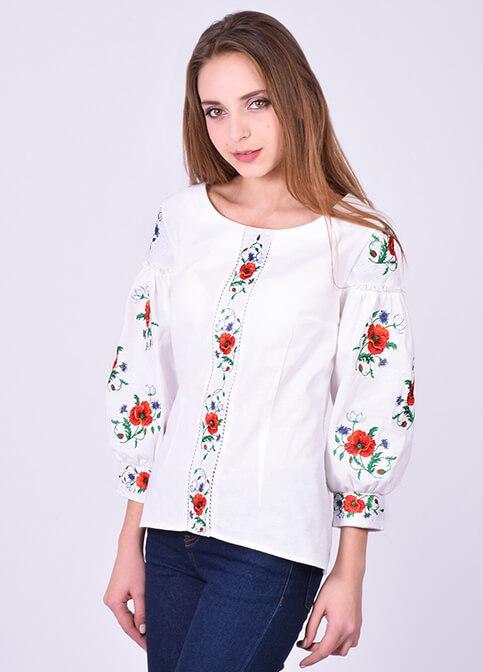 Женская блузка вышиванка, фото 1