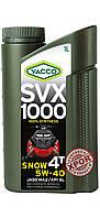 Масло для снегоходов YACCO SVX 1000 SNOW 4T 5W40 (1л.) для 4-тактных двигателей