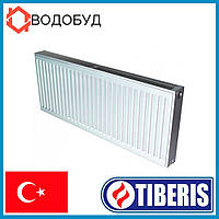 Стальной радиатор Tiberis 500x1000, 22 тип, боковое подключение