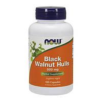 NOW Foods Black Walnut Hulls 500mg 100caps