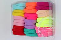 Набор безшовных резинок, в наборе - 36 шт. Цвет: микс (как на фото)