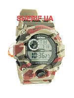 Часы армейские Skmei 1019 Red Camouflage
