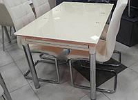 Стол ТВ020 кремовый 1200(2000)х800мм раскладной