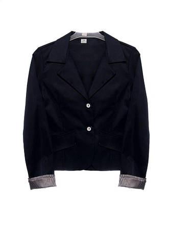 Школьная форма для девочек красивый модный синий пиджак р. 122-158 Польша Jantex, фото 2