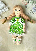 Игрушка текстильная кукла ручной работы в подарок для девочки