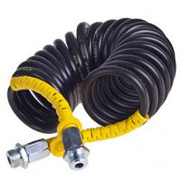 Шланг воздушный черный 22х1,5 (желтый разъём) 7,5м (JC-009)