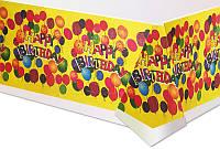 """Скатерть """"Happy Birthday"""""""