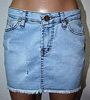 Юбки женские джинсовые 1906-04