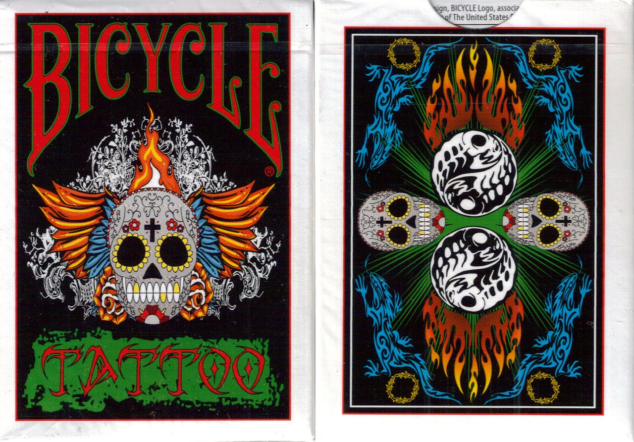 Карты игральные   Bicycle Tattoo Playing Cards