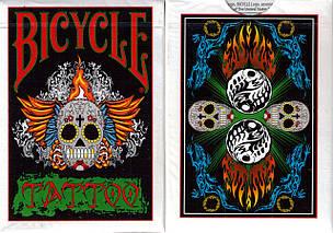 Карты игральные   Bicycle Tattoo Playing Cards, фото 2