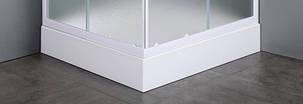 VI`Z квадратный поддон 80*80*15 см, сифон в комплекте, фото 2