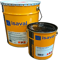 Полиуретановая краска для бетонных полов 2х-компонентная Дуэполь (жемчужно-серый) 16л до 96м2