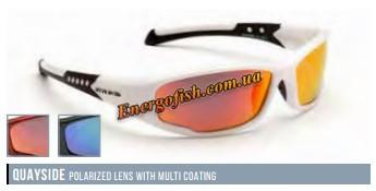 Очки Eyelevel поляризационные Quayside Оранжевые. оправа красно-белая
