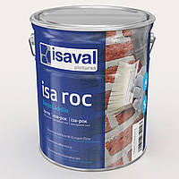 """Гидроизолирующий фасадный лак Isaval Иза-Рок 4 л прозрачный с эффектом """"Мокрого камня"""""""