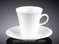 Чашка кофейная с блюдцем 160мл фарфор Wilmax