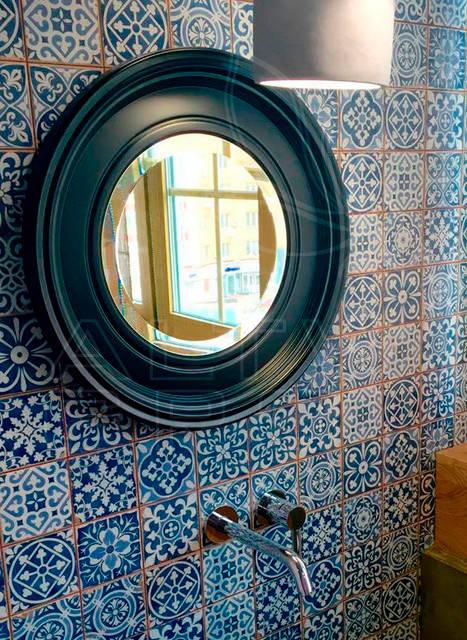 Зеркало в круглой раме. Производство зеркал ALTWIN GROUP.