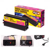 Преобразователь напряжения, зарядное устройство PULSO IMBC-1010, 12V-220V, 1000W, 10A, мод.волна/клеммы