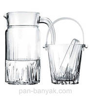 Karat  Ведро для льда d14,9 см h13 см стекло Pasabahce