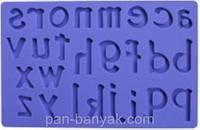 """Коврик для декорирования """"латинские буквы"""" 20х12,5 см силикон Empire"""