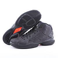 Мужские баскетбольные кроссовки Jordan Super.Fly 4 Black/Dark Grey Реплика, фото 1