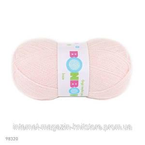Пряжа Nako Bonbon Ince Нежно розовый
